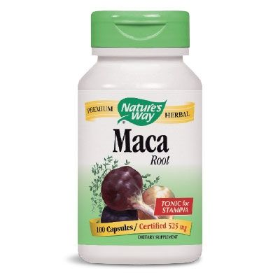 Мака ( корен ) 525 мг | Maca | Natures Way, 100 капс