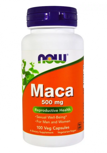 Мака (корен) 500 мг | Maca | Now Foods 100 капс