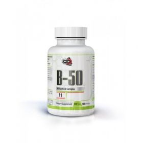 Витамин Б50 | Vitamin B-50 | Pure Nutrition, 100 табл