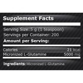 Pure Nutrition - 100% PURE GLUTAMINE / Глутамин 1000гр