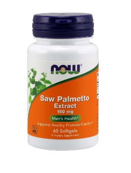 Сау Памето 160 мг | Saw Palmetto Extract | Now Foods, 60 драж